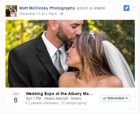 Wedding Expo Albany Marriott Hotel 1-8-2017