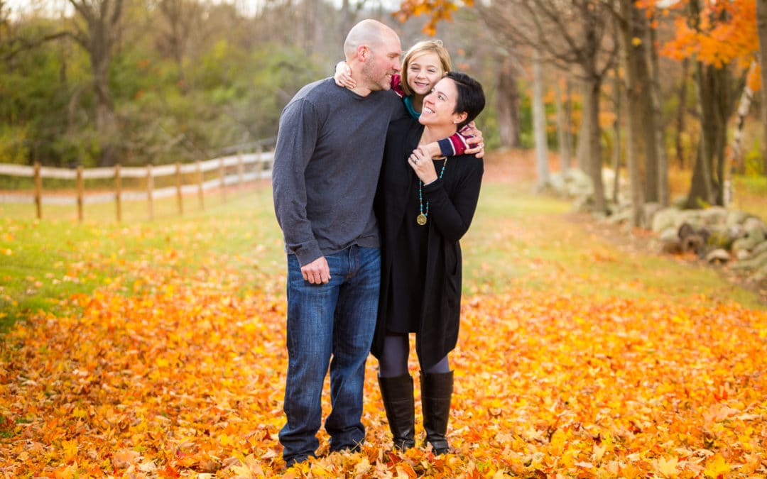 Jason and Nicky – Fall Family Photos