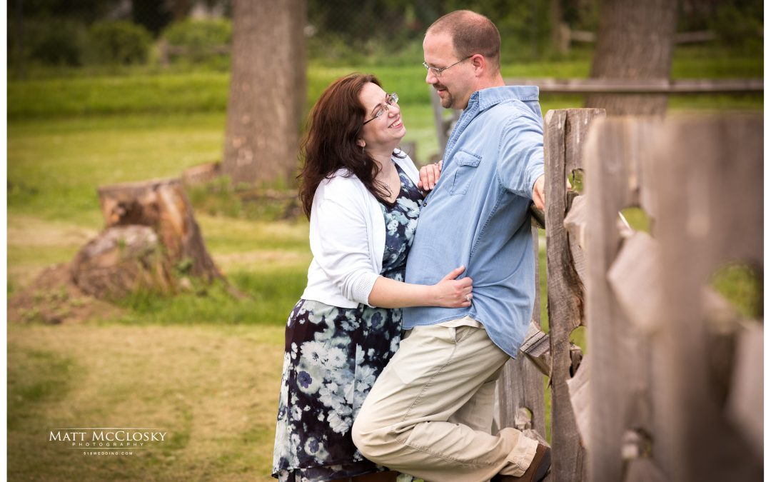 Maureen and Jason's Olde Tater Barn Engagement