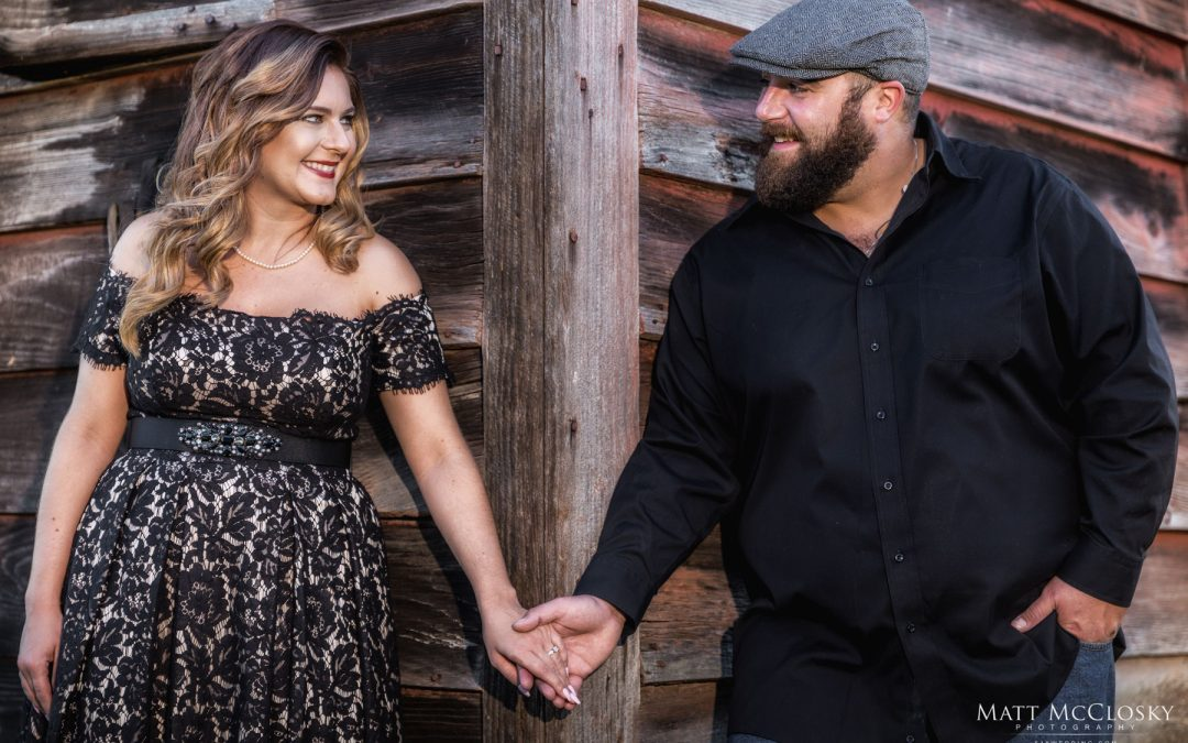 Amanda and Jared's Barn Engagement, Guilderland NY