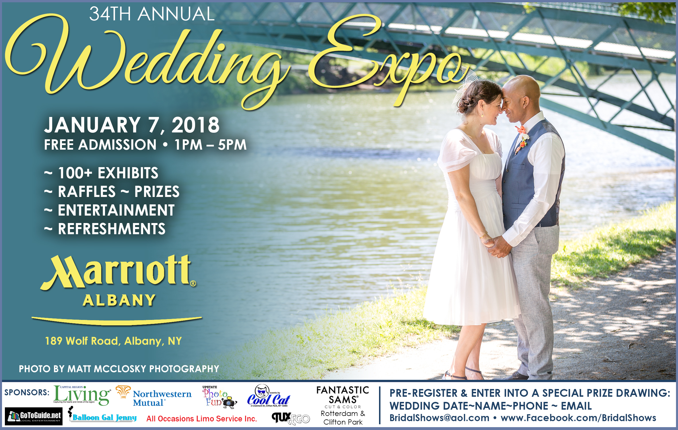 Albany Marriott Wedding Bridal Expo Matt McClosky Photography 518Wedding.com 2018