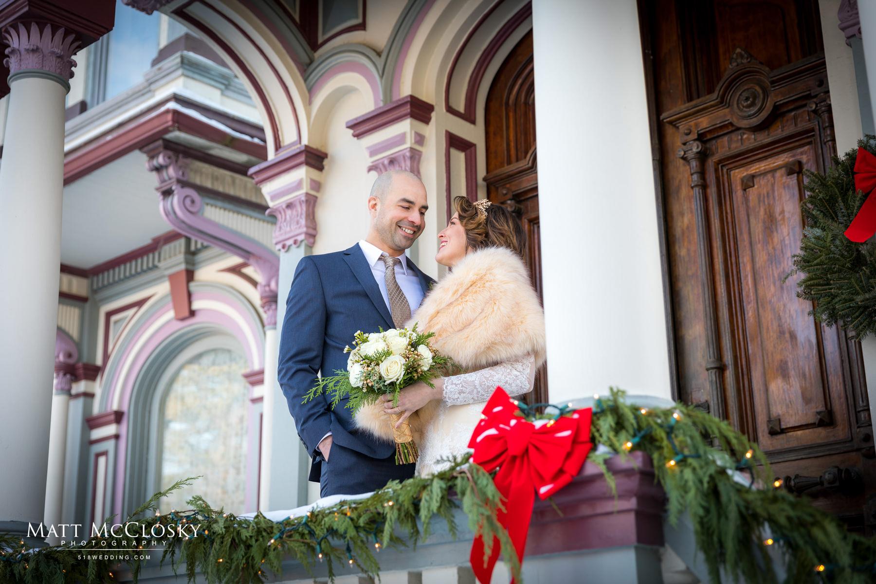 Nina and Jon Batcheller Mansion Inn Wedding Photos Saratoga Springs NY Matt McClosky Photography 518Wedding 518Photo Wedding photographer Albany NY Reverend Joy Burke