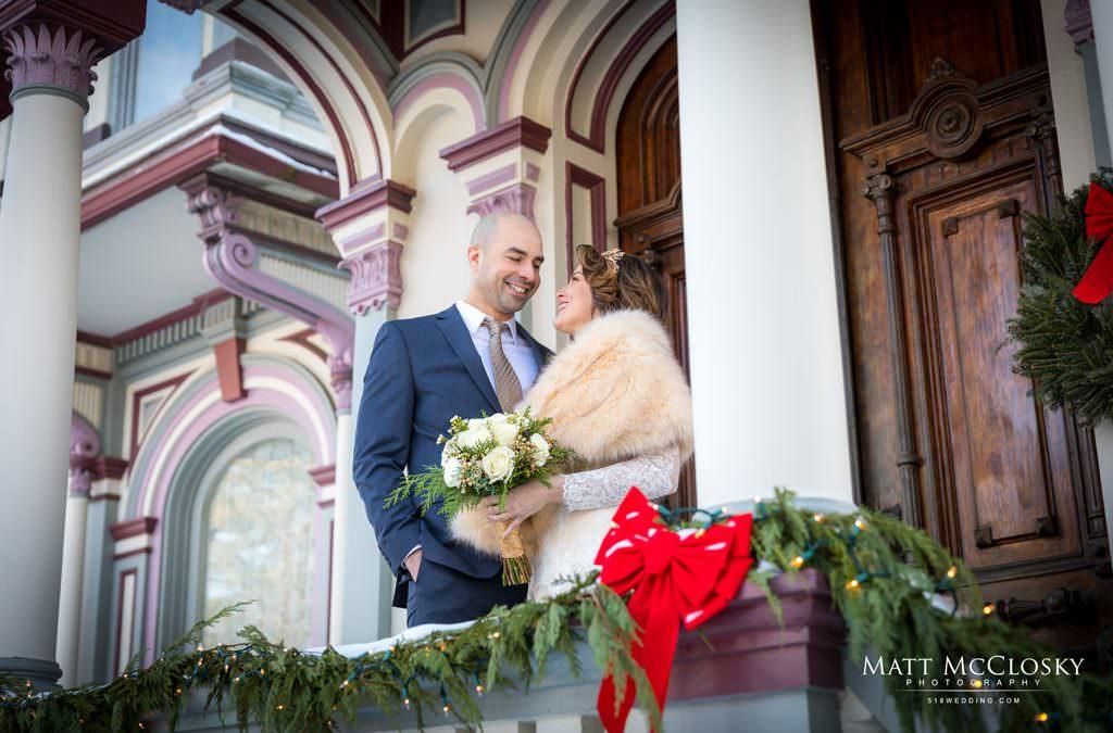 Nina and Jon, Batcheller Mansion Inn Wedding, Saratoga Springs NY