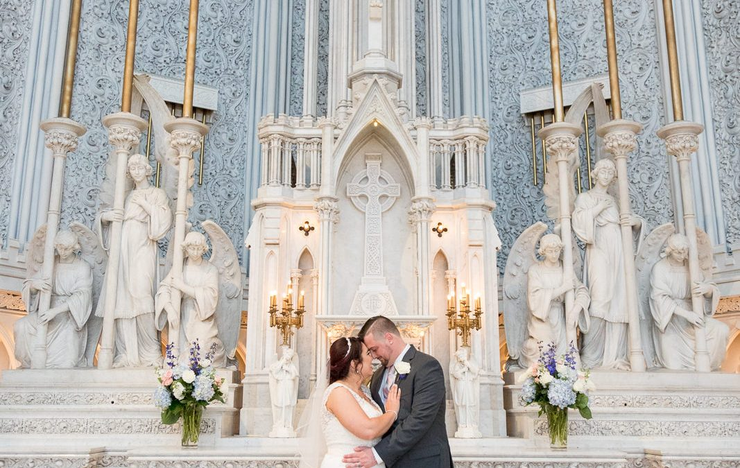 Megan & Nathan, St. John the Evangelist Church Wedding, Schenectady NY