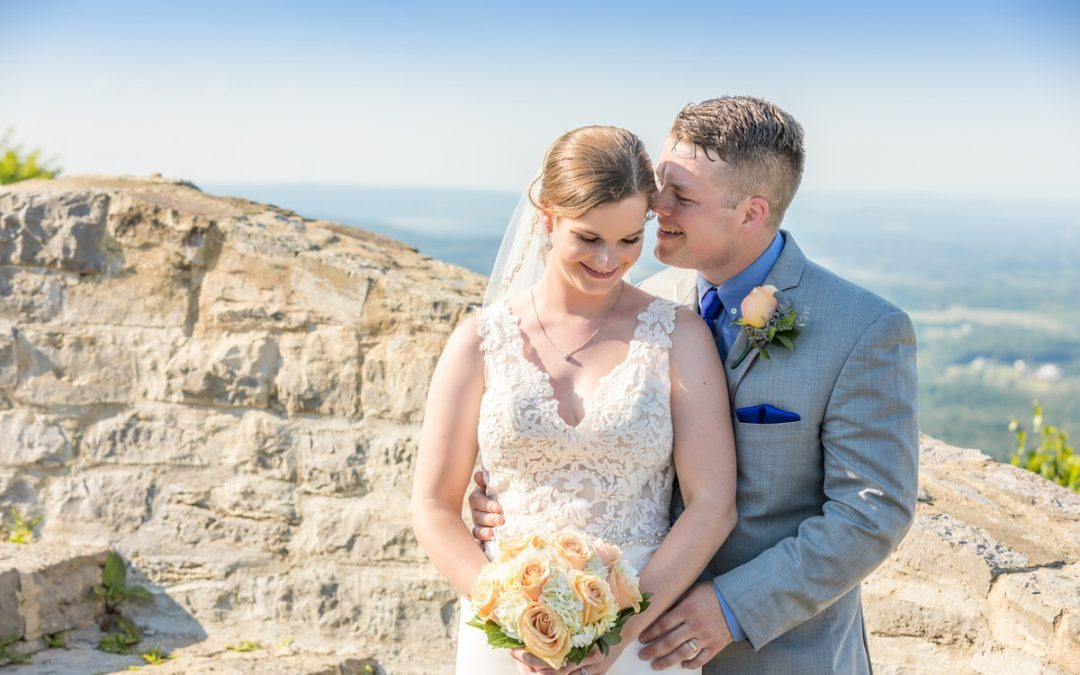 Kiersten and Andrew's Thacher State Park and Century House Wedding, Latham NY